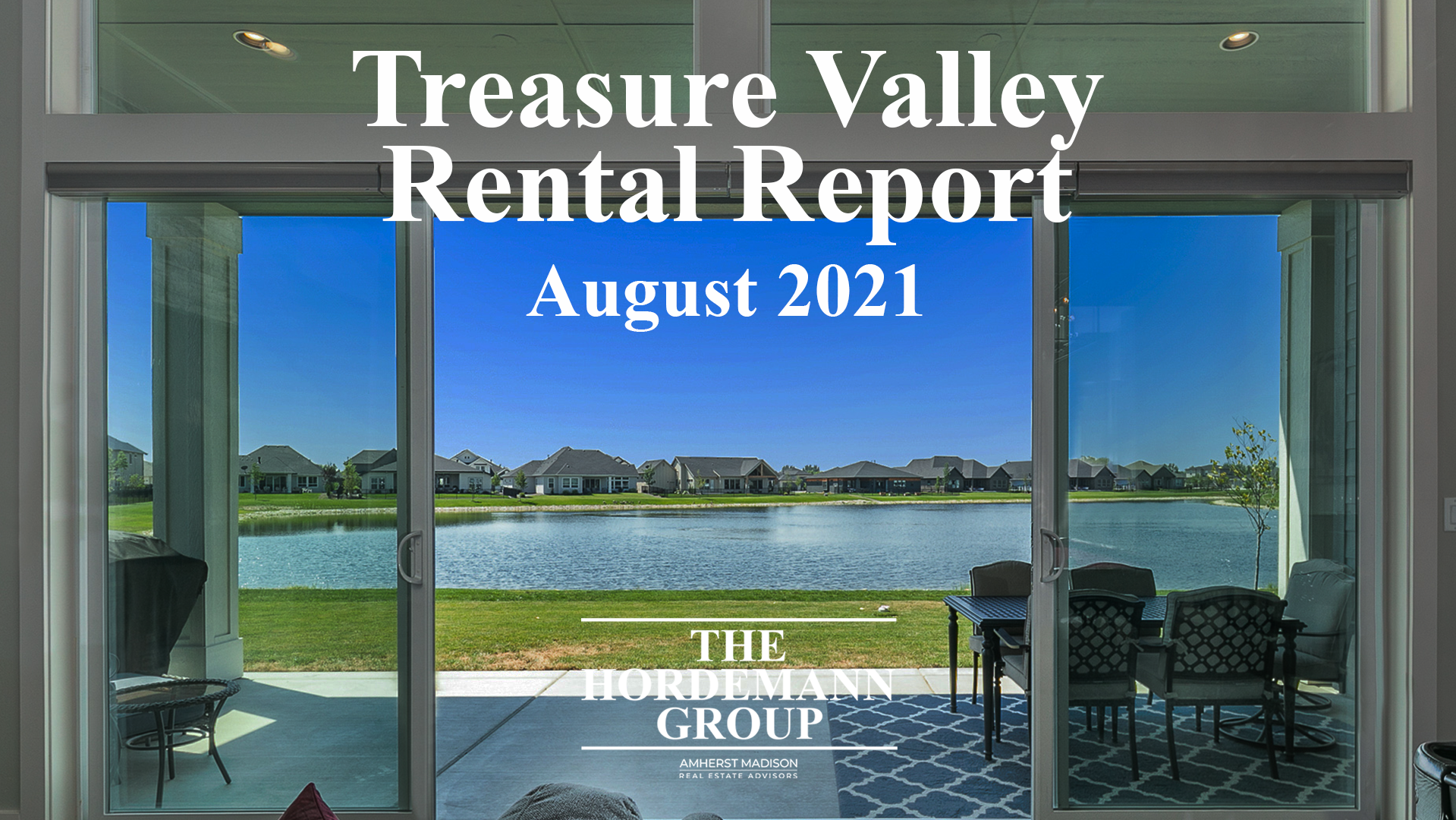 Treasure Valley Rental Report for August 2021